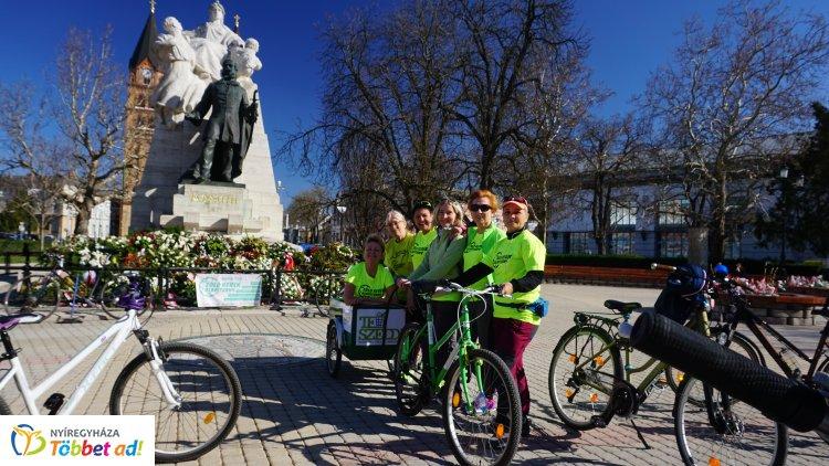 Zöld Kerék Alapítvány – Így telt a Bringás TeSzedd! március 23-án Nyíregyházán!