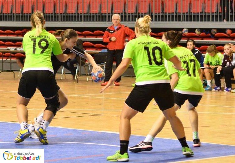 Kölcsey győzelem - a Heves ellen nyertek a kézis lányok a bajnokságban