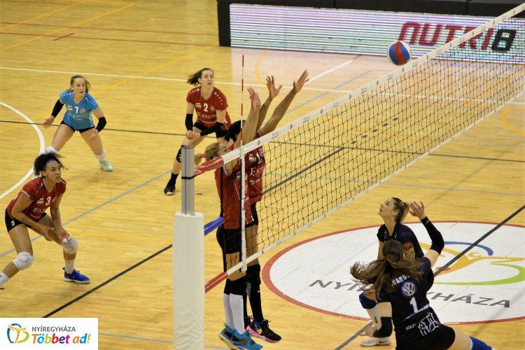 Párharc - Békéscsabán folytatódott a női röplabda Extraliga elődöntője