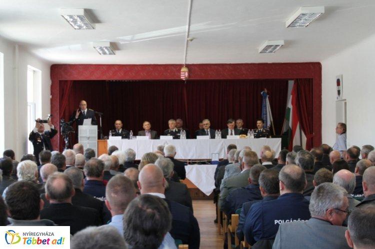 Szabolcs-Szatmár-Bereg Megyei Polgárőr Szövetség közgyűlése Nyírbátorban