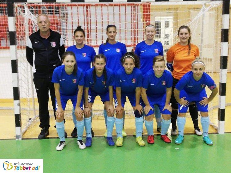 Felsőházban a Nyírség - a női futsal csapat a Ferencváros ellen játszhat a folytatásban