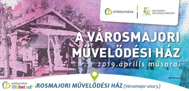 Szécsi Pál-emlékest, kiállítás, előadások - programok a Városmajori Művelődési Házban