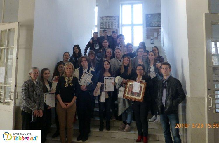 Festival d'Italiano – A kölcseys diákok minden évben részt vesznek az országos versenyen