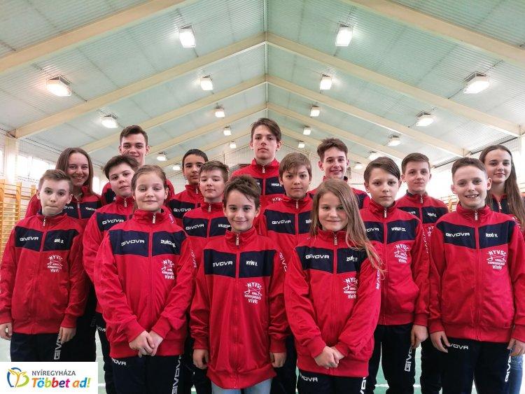 Diákolimpia - jól szerepeltek az NYVSC kardozói az országos  döntőben