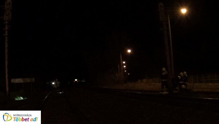 Halálra gázolt egy férfit a Nyíregyházáról Záhonyba közlekedő személyvonat