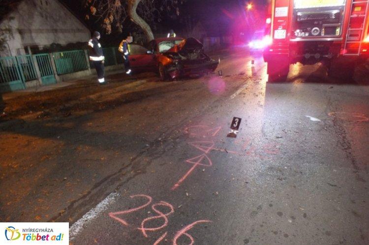 Ki vezetett? – Egy a Család utcán történt baleset okozóját keresik a nyíregyházi rendőrök