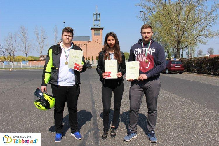 Középiskolás Közlekedésbiztonsági Kupa megyei döntője Nyíregyházán – Ők a győztesek!