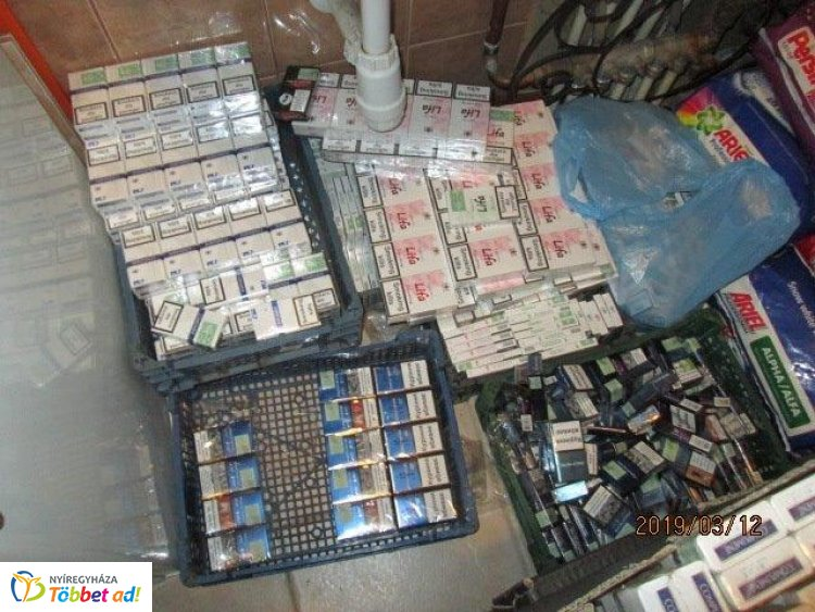 Cigi és szesz a mosókonyhában – 3,5 millió forint értéket foglaltak  le a pénzügyőrök
