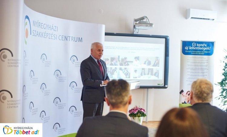 Gazdaság és szakképzés – Szakmai napot rendeztek a Szakképzési Centrumban