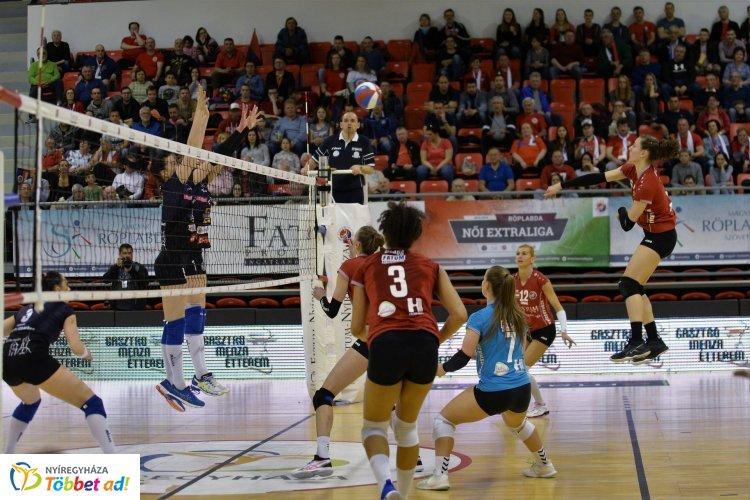 A Békéscsabával vív párharcot a női röplabda bajnokságban a Nyíregyháza