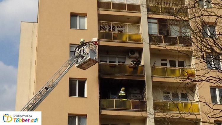 Exkluzív felvételek a Vasvári Pál utcai tűzeset helyszínéről – Egy társasház égett