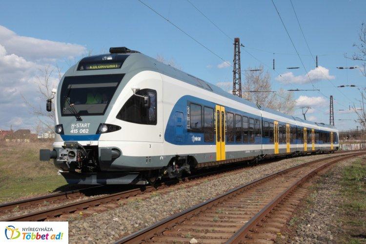 Több vasútvonalon módosítások lépnek életbe vasárnaptól, Nyíregyházát is érinti a változás