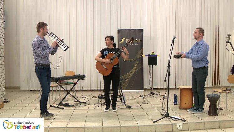 Közel hozták a zenét! A megye középiskoláiban turnézott a budapesti Melodika Project