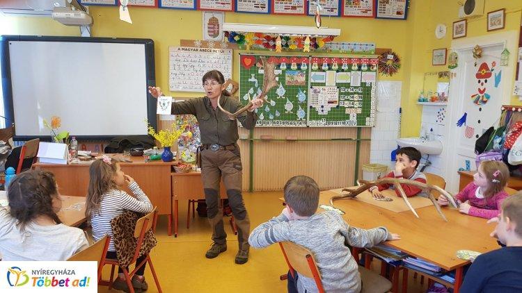 Egyre népszerűbb a Pál Miklós Erdészeti Erdei Iskola új programja