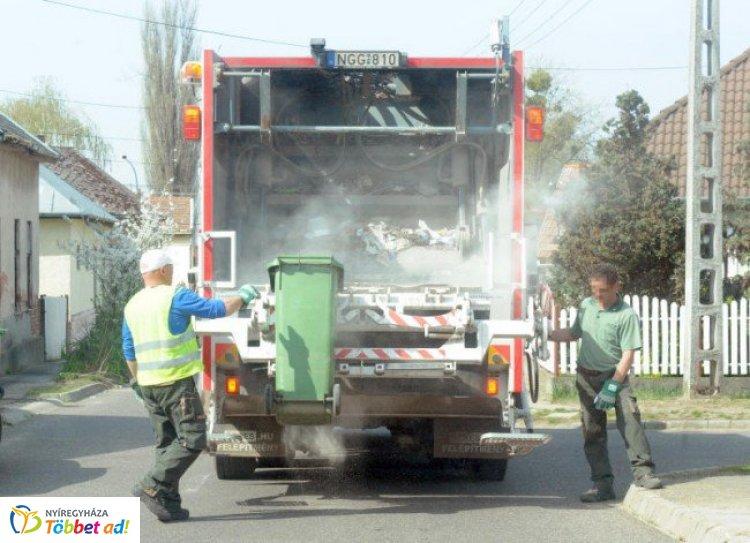 Így szállítják Húsvétkor a hulladékot - Időben érdemes kitenni a kukákat