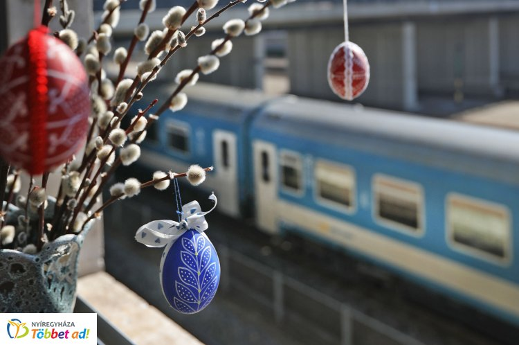 Változik a vonatok közlekedési rendje a húsvéti hosszú hétvégén