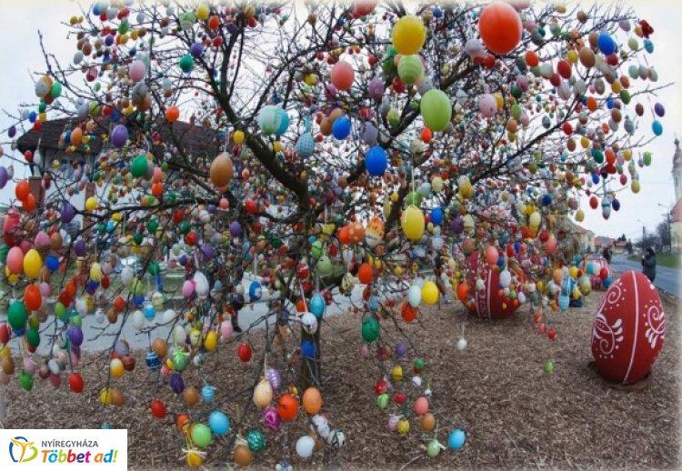 Húsvétra fel! - Gyertek, díszítsük fel együtt Oros tojásfáját!
