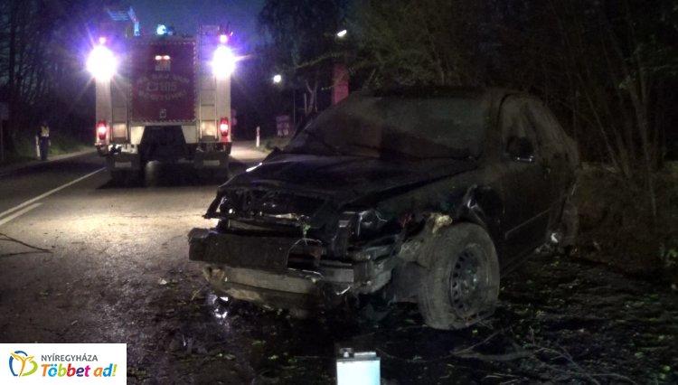 Öt sérültet szállítottak kórházba a napkori kereszteződésben történt balesetből