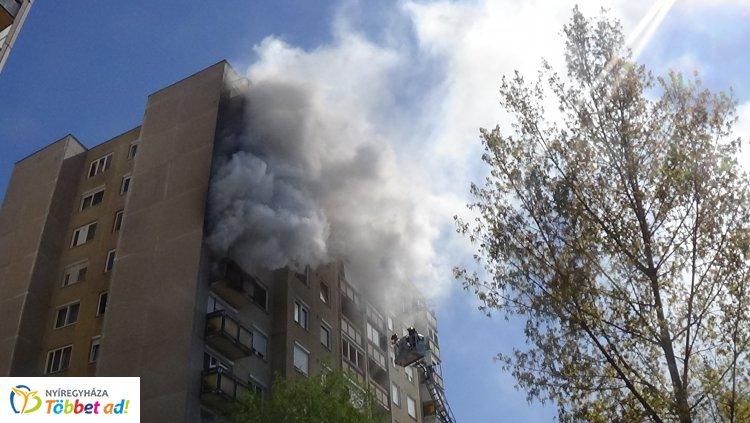 További részletek derültek ki az örökösföldi paneltűzről – 11 ember kapott füstmérgezést