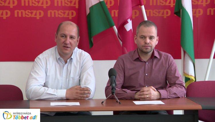 Az MSZP a Jobbik mellé állt Nyíregyházán rendészeti kérdésben