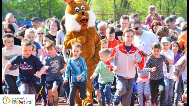 Szombaton Nyuszi futás! - Mindenki húzza fel a nyúlcipőt és irány a Városi Stadion!