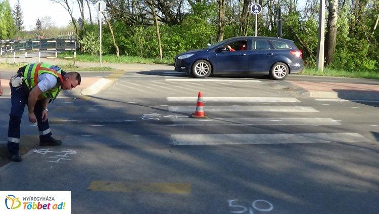 Figyelmetlenségből ütötte el a szabályosan közlekedő kislányt a Kemecsei úton