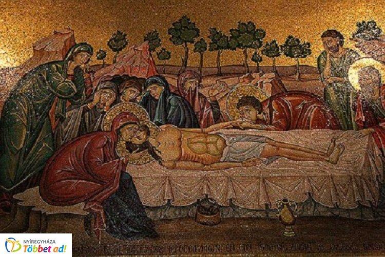 Nagyszombaton az Egyház Krisztus szenvedéséről és haláláról elmélkedik