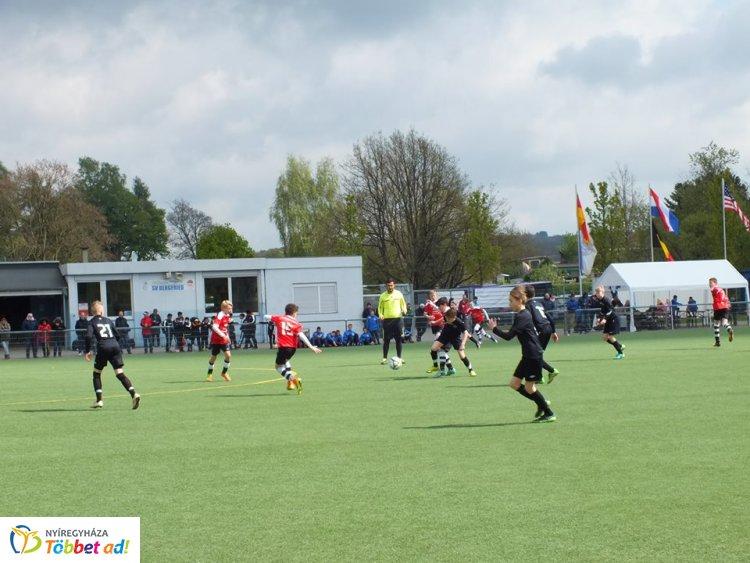 Nemzetközi torna - Németországban a nyíregyházi fiatal labdarúgók