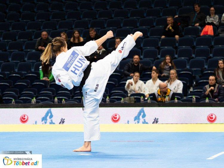 Karate - Berencsi Tímea ötödik az EB-n, Berencsi Csaba az első helyen kvalifikálta magát
