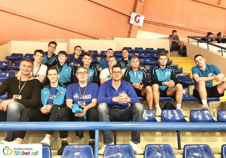 Hetedik hely a döntőben - a Blue Shark U20-as gárdája Szolnokon szerepelt
