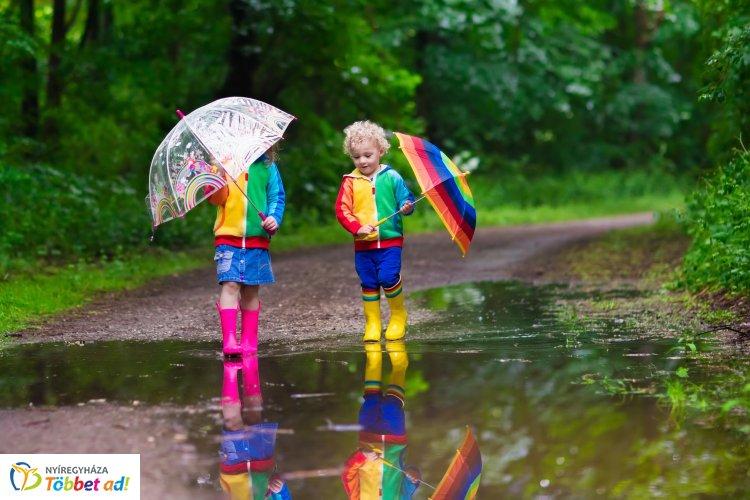 Elő a kabátokkal és az ernyőkkel – Esőre és záporokra készülhetünk