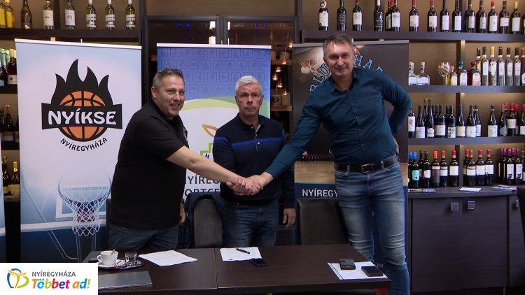Megállapodás a nyíregyházi kosárlabda érdekében – Több egyesület dolgozik együtt