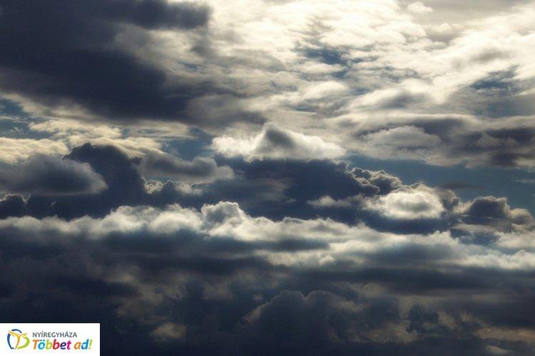 Átmenetileg felszakadozik a felhőzet –  Változékony időre számíthatunk kedden