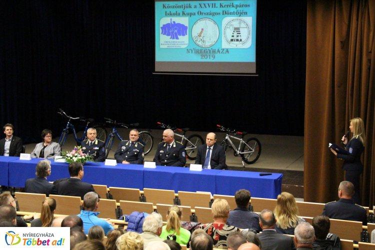 Megkezdődött a Kerékpáros Iskola Kupa országos döntője Nyíregyházán