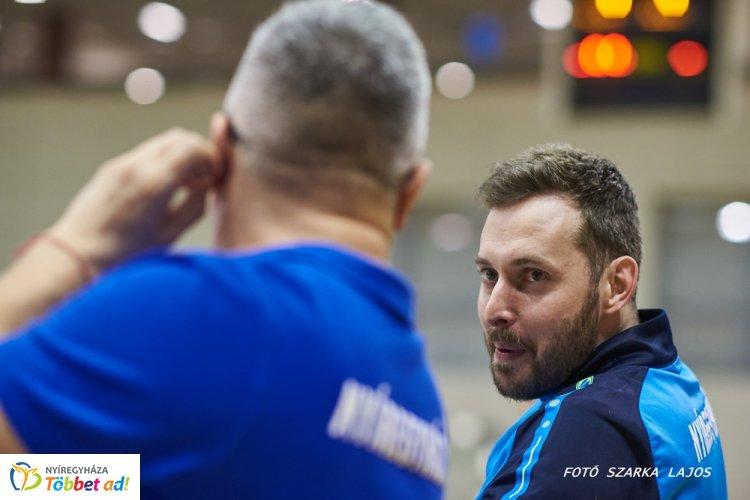 Távozik a Fatum Nyíregyháza edzője - Horváth András férfi csapatnál dolgozik a jövőben