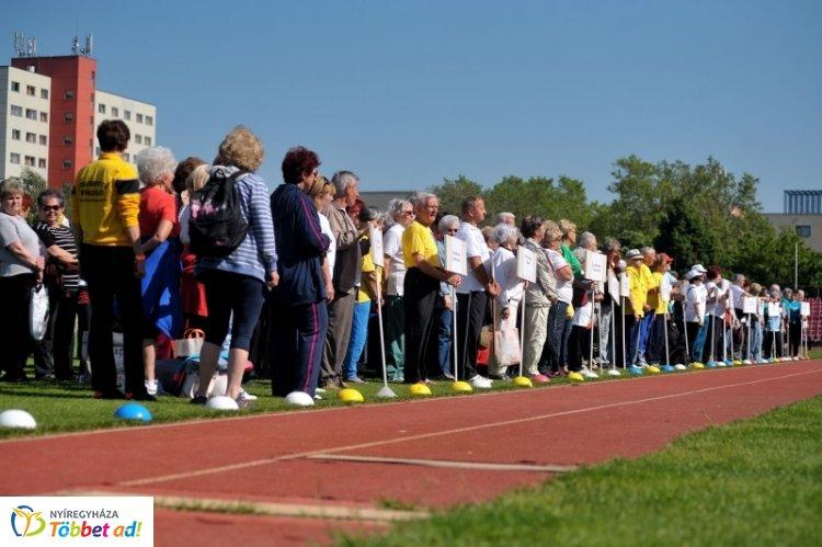 Hatodik alkalommal rendezik meg Nyíregyházán a Szépkorúak Sportversenyét