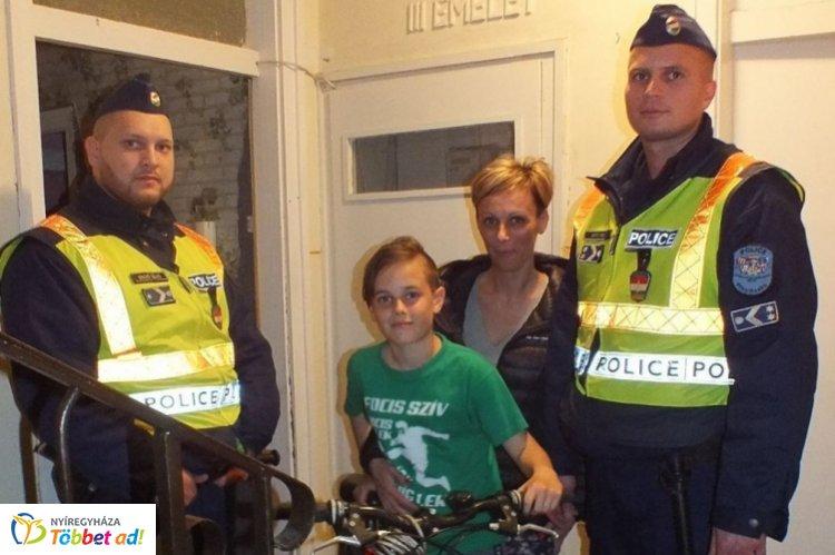 A rendőrök a lopott bicikliket megtalálták és visszaadták a tulajdonosaiknak