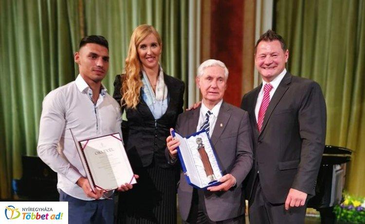 Magyar Sport Napja - nyíregyházi sportoló is elismerésben részesült!