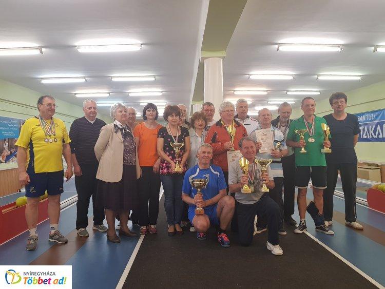 Városi tekebajnokság - megvédte címét a tavalyi bajnokcsapat
