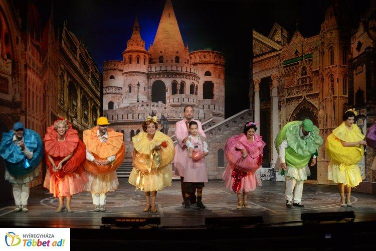 A nyíregyházi Meseautó a Nemzeti Színházban is közönségsikert aratott