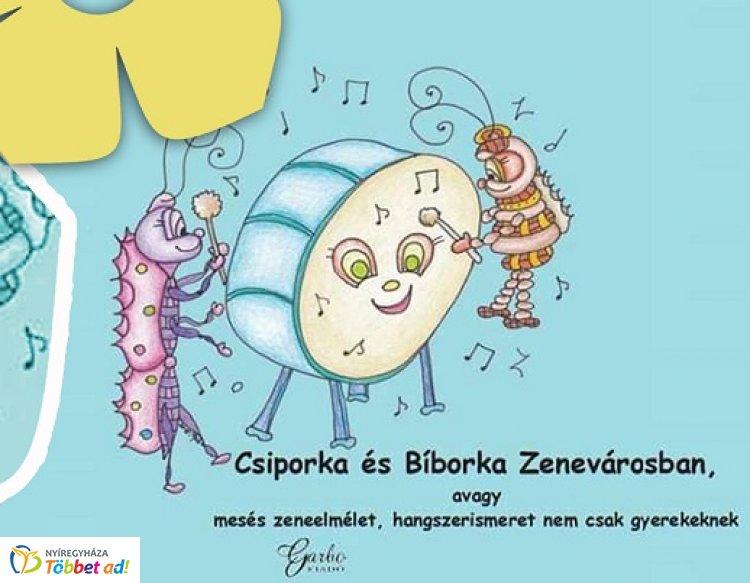 Csiporka és Bíborka Zenevárosban - író-olvasó találkozó a Móricz Zsigmond könyvtárban
