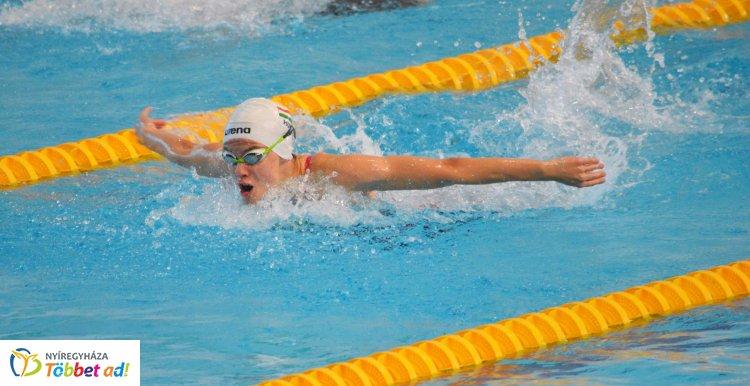 Miskolcon az úszók - jól szerepeltek a Sportcentrum versenyzői