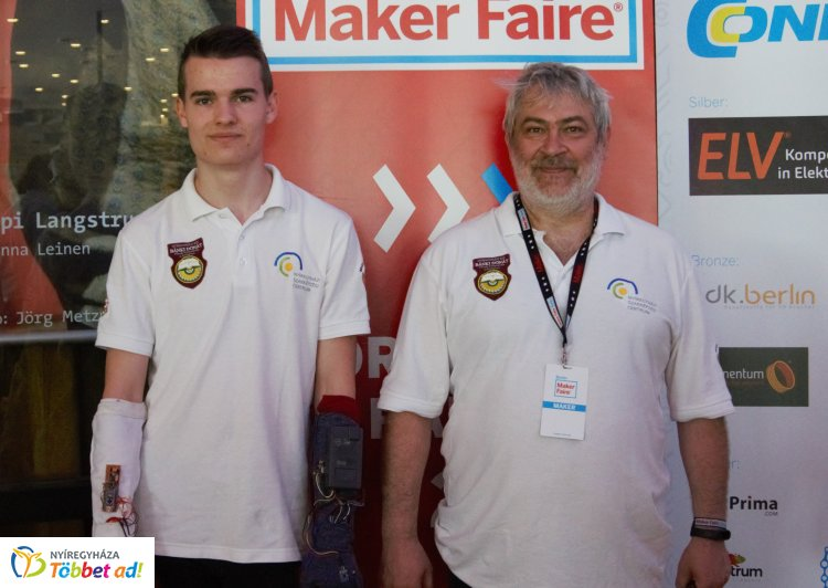 Európa legnagyobb maker találkozóján vett részt a Bánkirobot Team