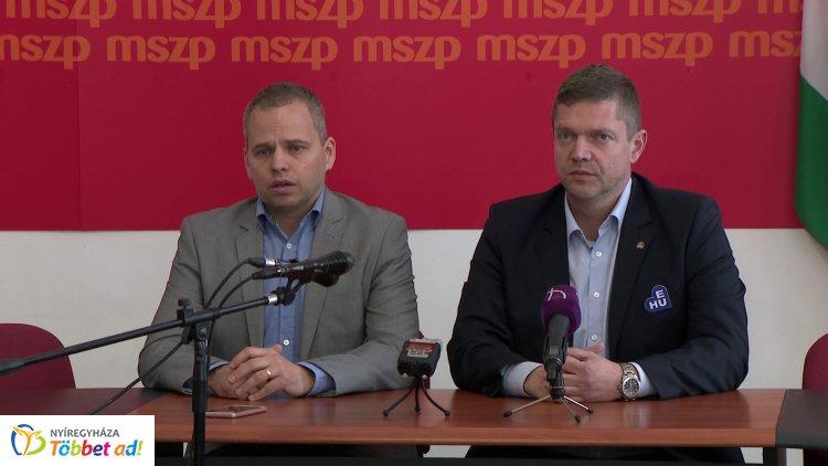 Programalapú szövetségnek nevezte a szocialista elnök az MSZP-Párbeszéd közös listát