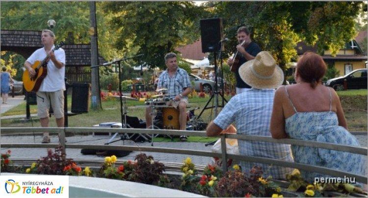 Zene Sóstón - koncertek a Sóstói piacon, június 12-től minden szerdán és szombaton
