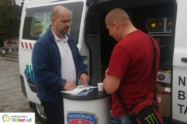 Folytatódik a Police Coffee bűnmegelőzési program Szabolcsban