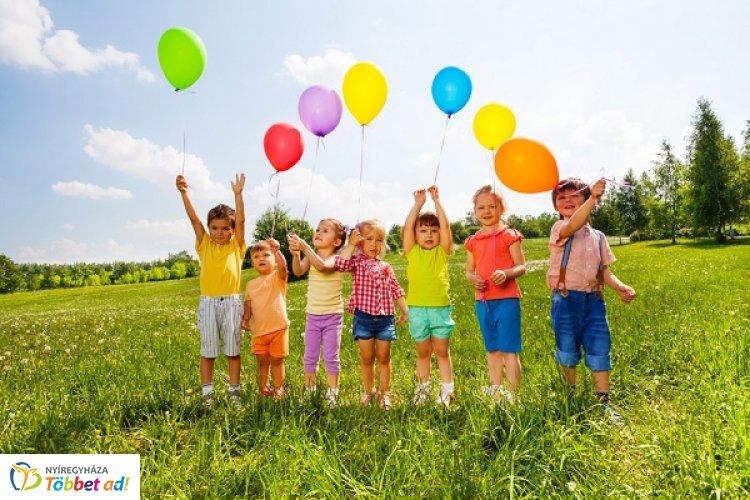 Felhőtlen kikapcsolódás és felejthetetlen élmények a nyíregyházi Gyermeknapon