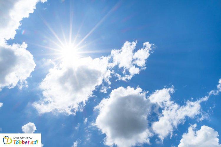 Vasárnap tovább melegszik az idő, sok napsütésre számíthatunk