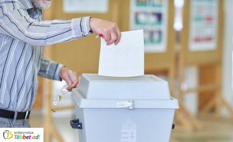 EP-választás – Eredmények Nyíregyházán: előzetes adat (99,9 százalék)