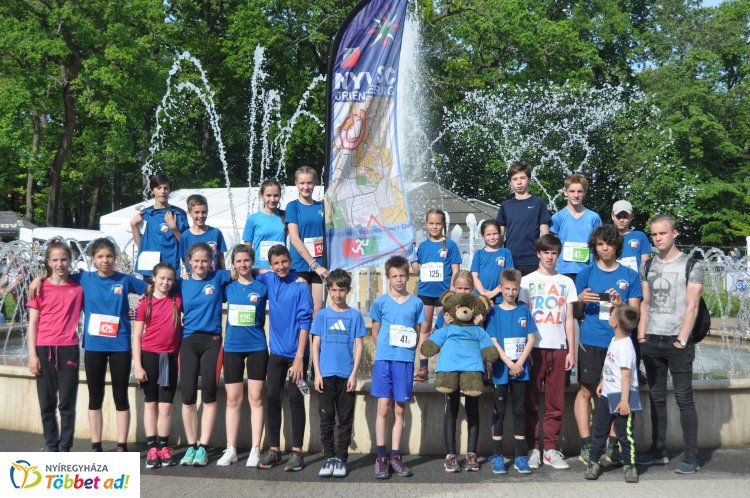 Tájfutó diákolimpia  - remekül szerepeltek az NYVSC fiatal versenyzői